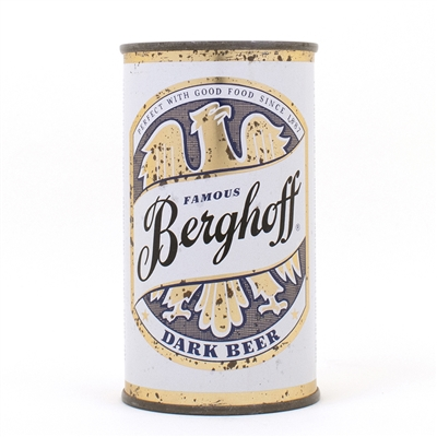 Berghoff Dark Beer Flat Top Can