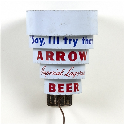 Arrow Beer Deco Style Wall Light