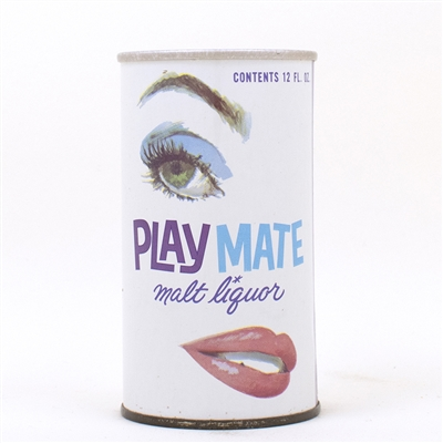Playmate Malt Liquor ZIP Top Bottom Opened!