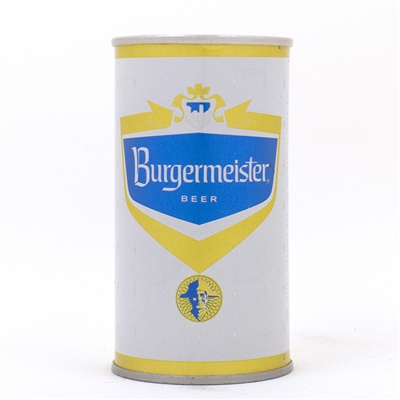 Burgermeister Beer UNLISTED Pull Ring Can