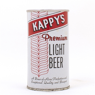 Kappys Light Beer BOTTOM OPENED ZIP