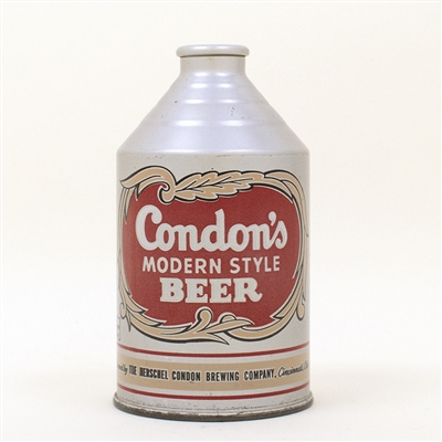 Condons Beer Crowntainer Cone Top