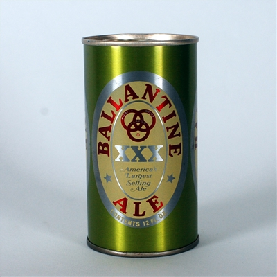 Ballantine Ale Green/Red Test Can