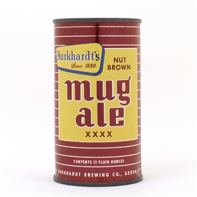 Burkhardts Nut Brown Mug Ale XXXX Flat Top
