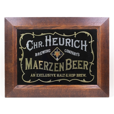 Christian Heurich Brewing Maerzen Beer ROG Sign
