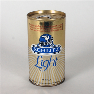 Schlit Light GOLD SMALL GLOBE Test Can