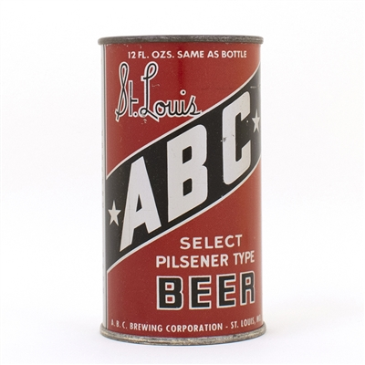 St. Louis ABC Select Pilsener FAT LETTER Instructional
