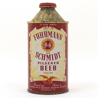 Furhmann & Schmidt F&S Beer Cone Top Can