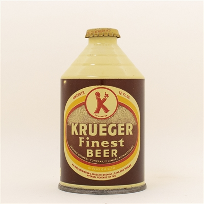 Krueger Beer Crowntainer Cone Top Can