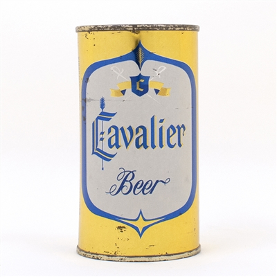 Cavalier Beer Flat Top Can