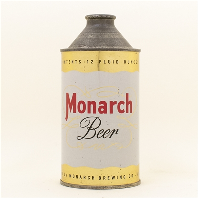 Monarch Beer Cone Top Can