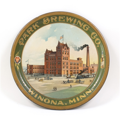 Park Brewing Winona Minnesota Factory Scene Tray