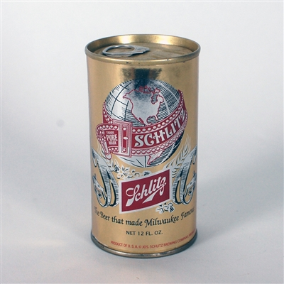 Schlitz GOLD LARGE GLOBE Test Can