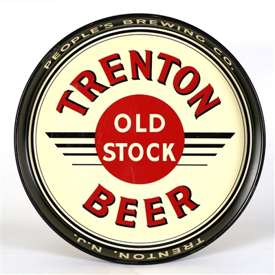 Trenton Old Stock Beer Serving Tray