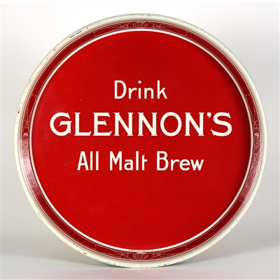 Glennons All Malt Brew Serving Tray