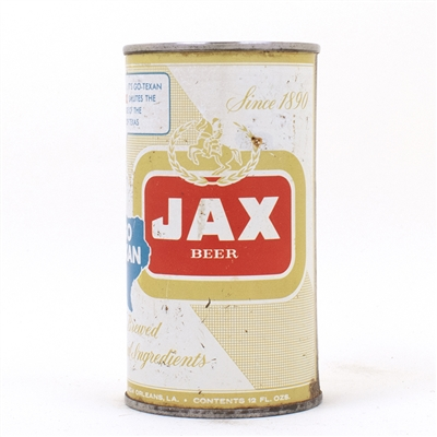 Jax GO-TEXAN Juice Tab Beer Can