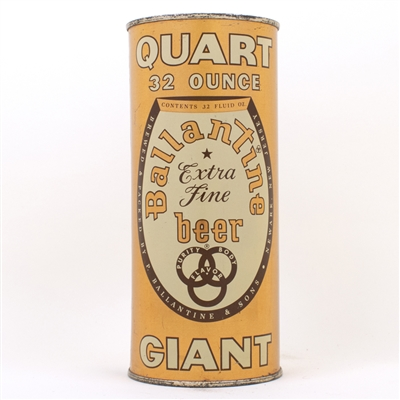 Ballantine Quart Flat Top Beer Can 237-1