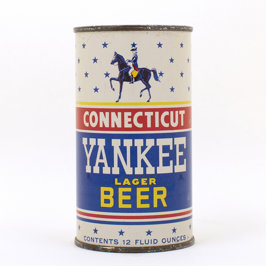 Connecticut Yankee Beer Flat Top Can