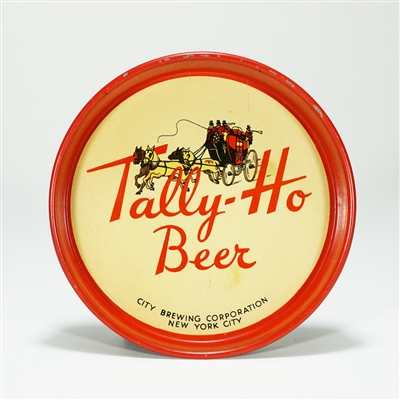 Tally-Ho Beer Tip Tray