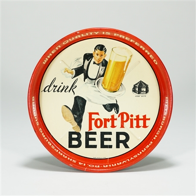 Fort Pitt Running Waiter Tip Tray