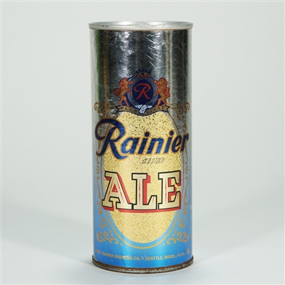 Rainier Old Stock Ale Blue/Silver Test Can