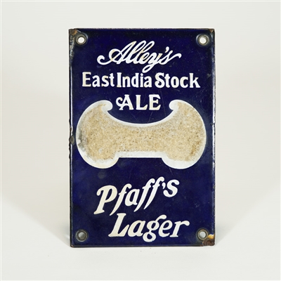 Pfaffs Lager Alleys East India Stock Ale Match Striker