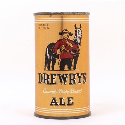 Drewrys Canada Pride Ale Instructional Flat Top