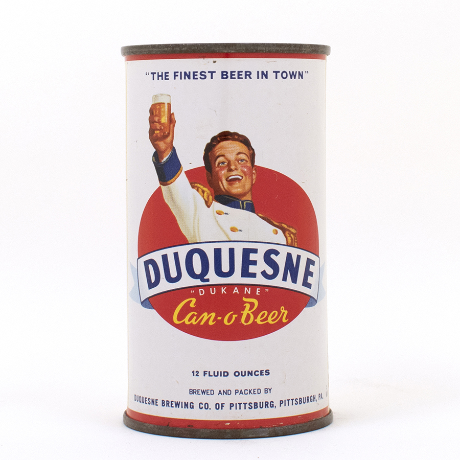 Duquesne Can-O-Beer Flat Top Can