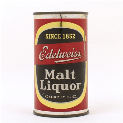 Edelweiss Malt Liquor Flat Top Can