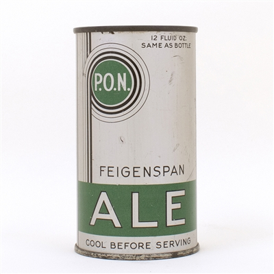 Feigenspan PON Ale Long Opener Can