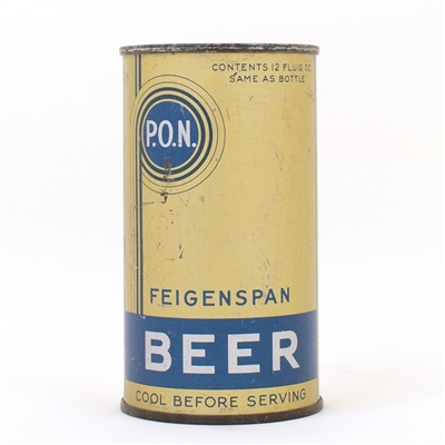 Feigenspan PON Beer Long Opener Can