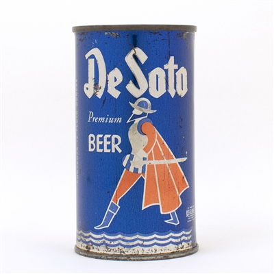 De Soto Beer Flat Top Can Tennessee Brewing 53-28