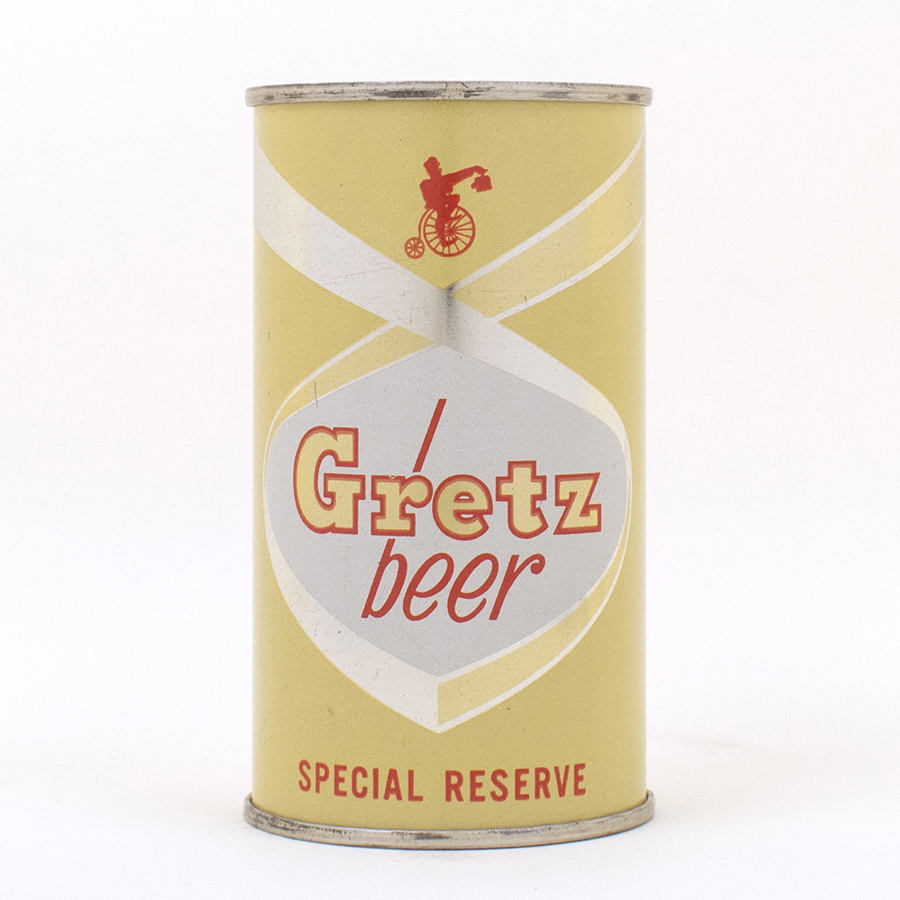 Gretz Beer Special Reserve Flat Top Can 74-37