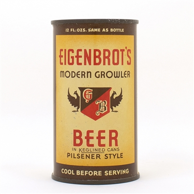 Eingenbrots Modern Growler Beer LONG OPENER