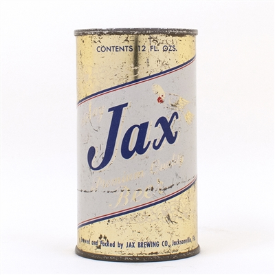 Jax Brewing Flat Top Beer Can