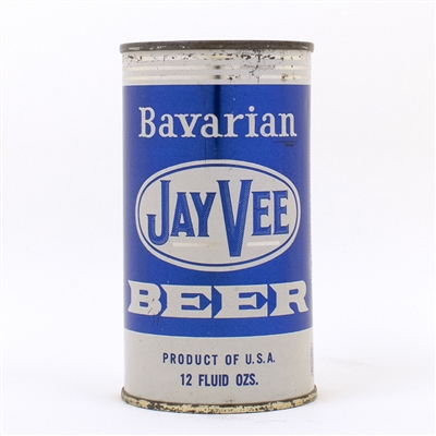 Jay Vee Bavarian Beer Flat Top Can