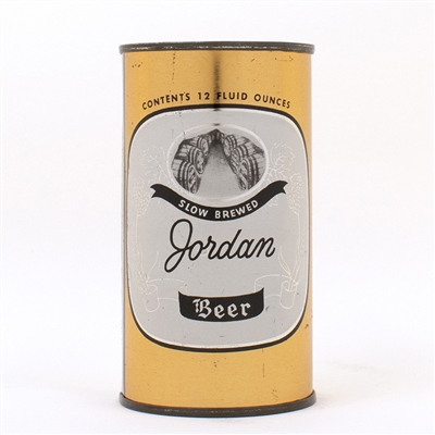 Jordan Beer Flat Top Can