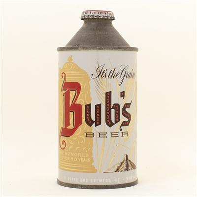 Bubs Beer Cone Top Can