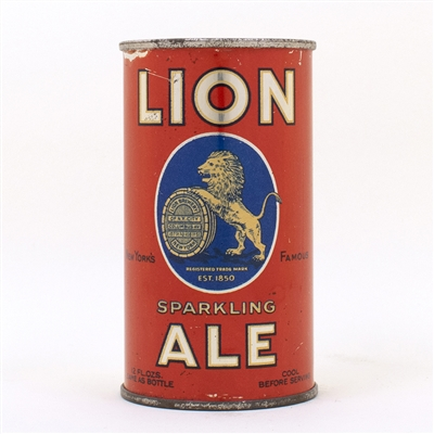 Lion Sparkling Ale Flat Top INSTRUCTIONAL