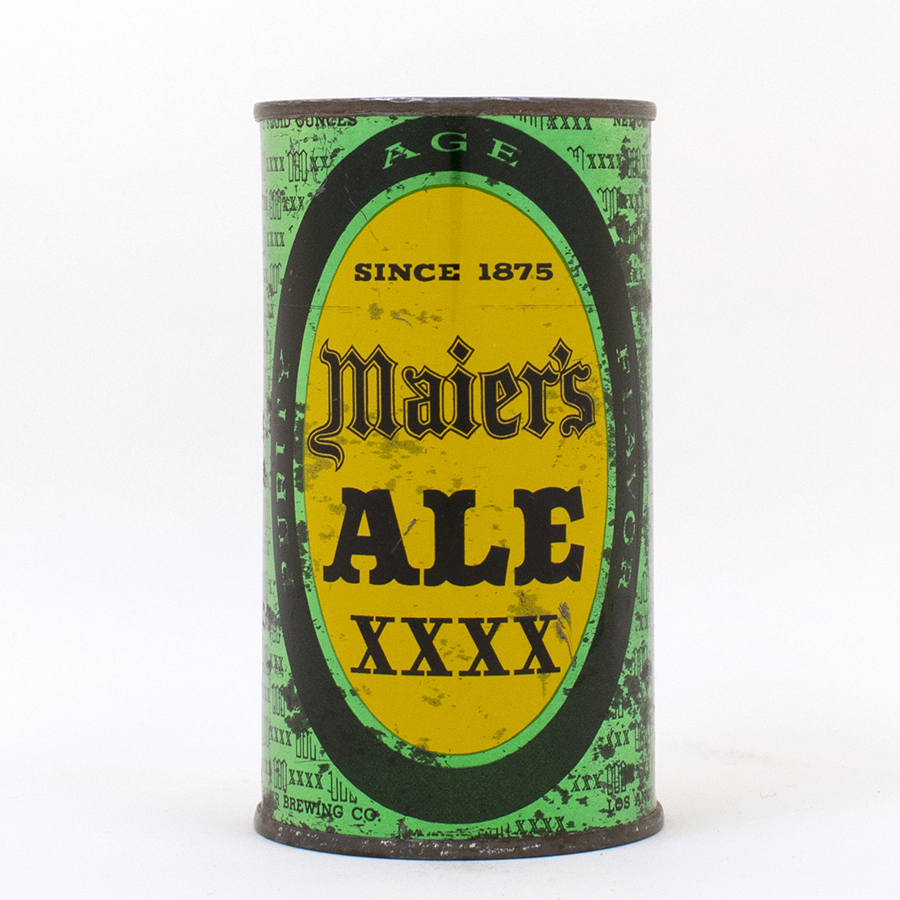 Maiers XXXX Ale Flat Top Can