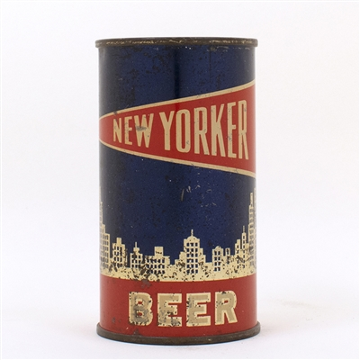 New Yorker Beer Flat Top Can VANITY LID