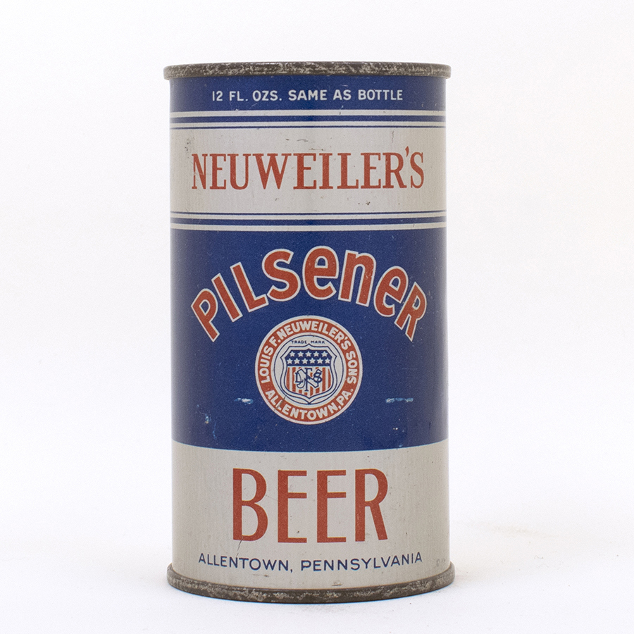 Neuweilers Pilsener Beer Instructional Flat Top