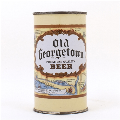 Old Georgetown Beer DARK BROWN Flat Top