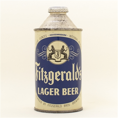 Fitzgeralds Lager Beer Cone Top Can
