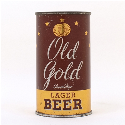 Old Gold Seven Star Lager Beer OI Manhattan