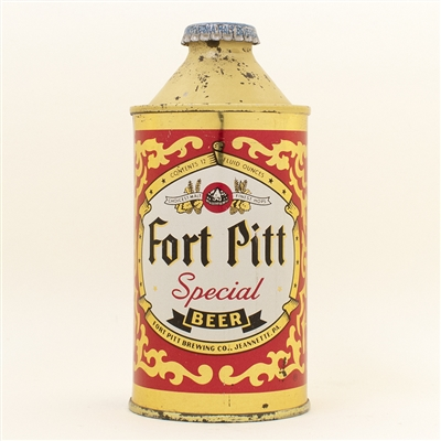 Fort Pitt Special Beer Cone Top Can