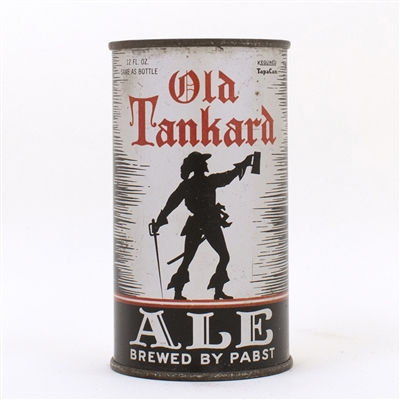 Old Tankard Ale Pabst Instructional Flat Top Can