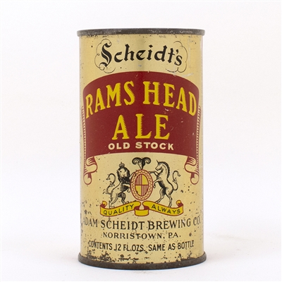 Rams Head Ale Instructional Flat Adam Scheidt