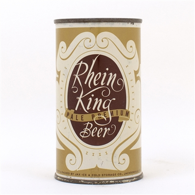 Rhein King Pale Beer Flat Top Can