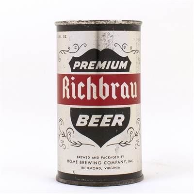 Richbrau Premium Metallic Silver CONTINENTAL Can